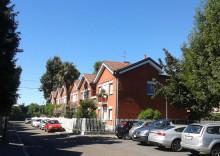 case a schiera di via Agrigento